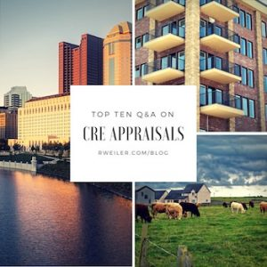 Commercial Real Estate Appraisal Q&A